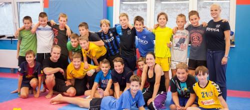 Obiskali so nas: Mladi rokometni upi iz RK Celje Pivovarna Laško