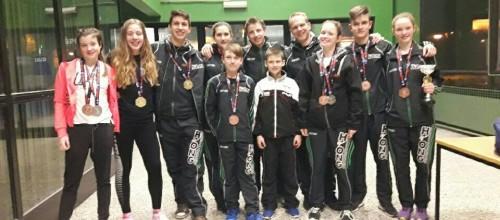 Mladi Hyongovci s kickboxinga na Hrvaškem z odličji