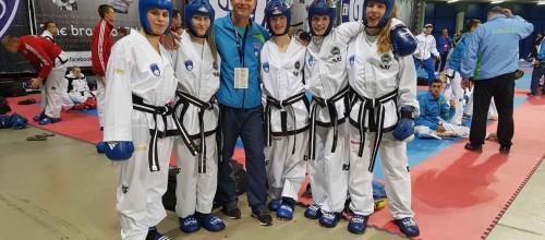 Mladi Hyongovci z EP v taekwon-doju s štirimi odličji