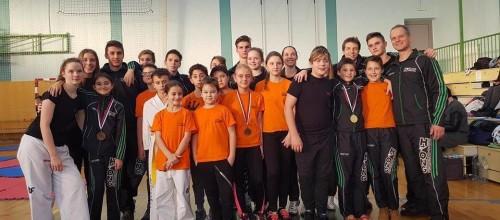 Hyongu na DP v taekwondoju skupno 2. mesto in najboljša mladinca