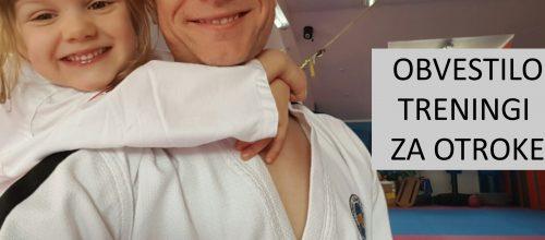 NOVO__OBVESTILO – treningi OTROCI